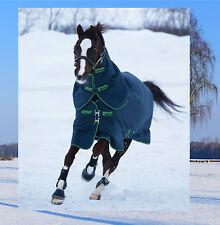 Amigo Bravo Pony Plus medium, Horseware Winterdecke 250g mit Halsteil, navy