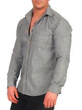 SELECTED HOMME Herren Hemd Grau Styleno. 16022611 Langarm Long Sleeve Shirt