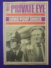 Private Eye # 585-Soho Poof Schock - 18 Mai 1984