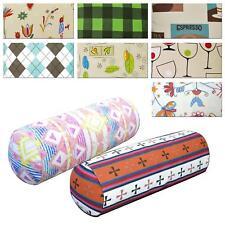 Bolster Cover*Modern Cotton Canvas Neck Roll Tube Yoga Massage Pillow Case*AL5