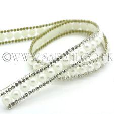 hot fix rhinestones feather motif crystal pearl iron on heat transfer desigBIBB