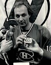 Guy Lafleur - Montreal Canadiens - 500th Goal,  8x10 B&W Photo