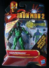 IRON MAN 2 GUARDSMAN with snap-on repulsor blast! (Comic Series)