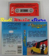 MC DEE JAY HOLIDAY 89 COMPILATION JOVANOTTI BON JOVI MORRISSEY no cd lp dvd vhs