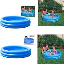 New Kids Children 4 6 FT Inflatable Swimming Pool Garden Outdoor Fun Water Park