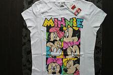 Disney Character Chemise Minnie souris couleur blanc taille S ou M