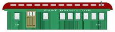EAST BROAD TOP COMBINE Model Railroad On30 Laser Wood Short Quik-Kit DFEBT18