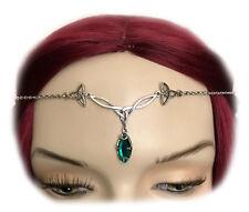 Celtic Triquetra Trinity Knot Bridal Circlet Headpiece Crown Headdress Jewelry