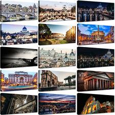 Quadro Moderno Roma Stampa su Tela Canvas Quadri Moderni XXL Città Arredo Casa