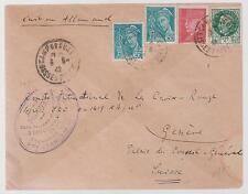 1942 France Concentration Internment Camp de Gurs prisoner Cover K Sothlesinger