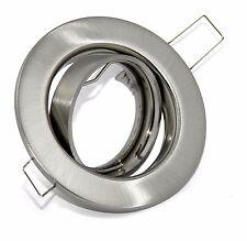 LED Spot Einbaustrahler Einbauleuchte Einbaurahmen TOM GU10 GU5,3 mit Sprengring