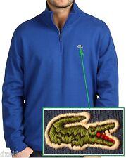 NWT Lacoste Long Sleeve Half-zip Interlock Sweatshirt With Croc Size XS (3)