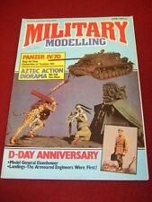 MILITARY MODELLING - GENERAL EISENHOWER - JUNE 1984