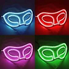 LED-Augenmaske mit Spitze, Leuchtmaske, EL-Maske für Karneval, Partys, ©Ucult