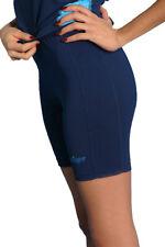 Womens UV Sun Protection Swim Shorts Navy Blue Chlorine Resistant Sizes XS - 3XL