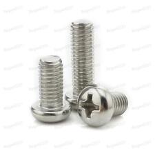 4#-40 304 Stainless Steel Phillips Cross Pan Head  Machine Screw ANSIB18.6.3P