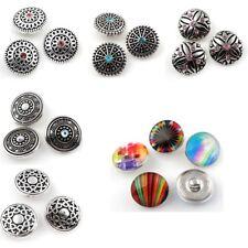 Druckknöpfe Damen Click-Button mit strass für Armband Halskette Sie das Modell