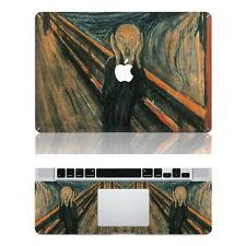 "Edvard Munch's scream painting Apple Macbook 13"" Air/Pro/Retina sticker skin"