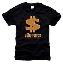 Billionaires Millionaire Rich & Beautiful - Herren-T-Shirt, Gr. S bis XXL