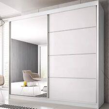 Schwebetürenschrank Multi 35 Kleiderschrank 233 cm Garderobe mit Spiegel Schrank