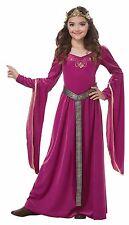 Renaissance Medieval Princess Girls Child Costume Berry