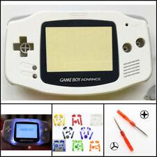 Nintendo Game Boy Advance GBA Front Light Frontlight AGS-001 Full Mod Kit White