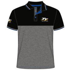 Official Isle of Man TT Races Dark Grey Polo Shirt - 18AP4
