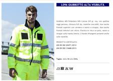 GIUBBOTTO UOMO ALTA VISIBILITA' SOCCORSO STRADALE NETTURBINO L096 GP ITALIA