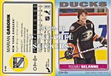2012-13 O-Pee-Chee Stickers Hockey Card Pick