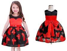 Childrens Kids Girls Butterfly Formal Fancy Princess Party Pageant Dress K13
