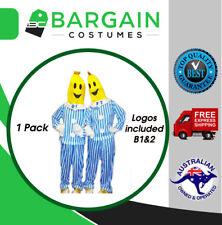 1 PACK Bananas in Pyjamas Mens Womens Unisex Halloween Party Costume Logos B1 B2