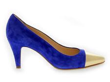 Décolleté MARTINA 6006 B in camoscio blu - Scarpe Donna