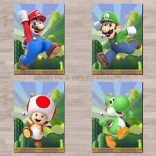 Mario / Super Mario A4 canvas paper / poster prints.