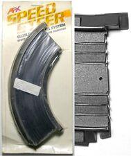 "2 1979 Aurora Speedsteer HO Slot Car 1/4 9"" CURVES 6052"