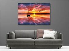 Quadro dipinti decocrazione in kit Tramonto de sole ref 55336516
