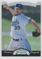 1995 SP Silver #17 Jim Pittsley Kansas City Royals Baseball Card