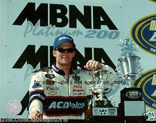 DALE EARNHARDT JR 1999 MBNA 200 NASCAR WIN 8 X 10 PHOTO