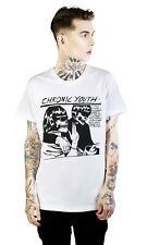 Disturbia Gothic Goth Punk T-Shirt - Chronic Youth Skelett Schädel