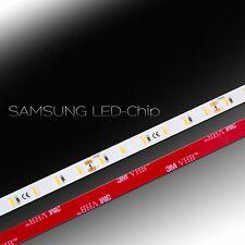 ✅ 0,5-20m, RA94 SAMSUNG 2820Lm/m 23W LED Strip Band warmweiß 5630 60 LED/m 24Vdc