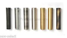 Redondo Cilindro Luz O Persiana cordón Pesado Macizo Metal 70g Peso-8 COLORES