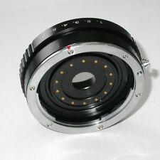 micro 4/3 Olympus Lumix Panasonic raccordo a obiettivo Canon eos con diaframma