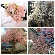 Artificial Fake Cherry Blossom Silk Flower Bridal Hydrangea Home Garden Decor