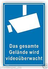 Schild,Aufkleber,Gelände,videoüberwachung,videoüberwacht,video,Hinweis, Vi48