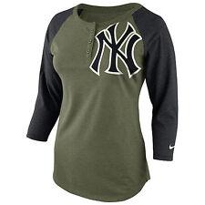 "New York Yankees Nike ""Lights Out"" Raglan T-Shirt Women's Medium Large XL BNWT"