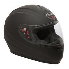 Zoan Thunder Full-Face Motocycle Helmet - Solid Matte Black