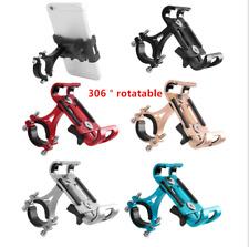Aluminum Motorcycle Bike Bicycle Cell Phone Holder Mount Handlebar GPS Universal