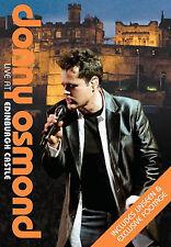 DONNY OSMOND - LIVE AT EDINBURGH CASTLE (NEW DVD)