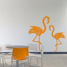 Wandtattoo Flamingo Abstrakt Vogel Aufkleber Wall Art Wand Tattoo #2119
