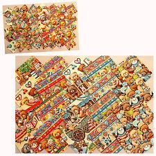 Scraps 5x5 + 10x10 cm Patchwork Stoffe Bärchen Bären Teddy - CUBS IN THE NURSERY