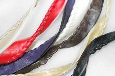 Neotrims Faux Leather PU Ribbon Trim Tape Border, Edging,Crafts,Coach Pram,Strap